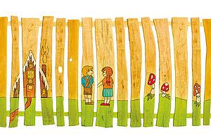 Zaune Aus Dem Holz Der Robinie Ziegler Spielplatze