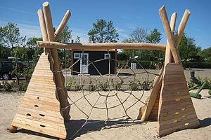 Klettergerüst Spinnennetz : Klettergerüste klettergeräte aus robinie ziegler spielplätze