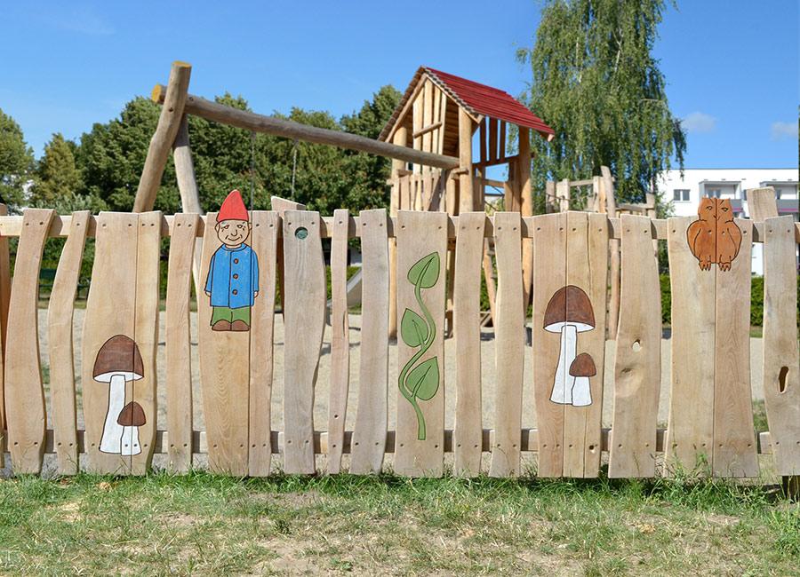 Zaun Fur Kindergarten Geeignet Ziegler Spielplatze