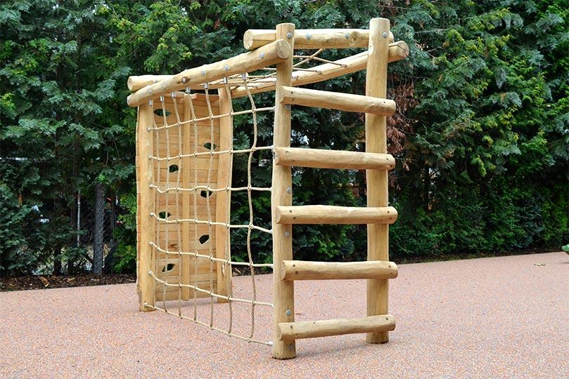 Klettergerüst Reck : Klettergerüst fußballtor aus robinie ziegler spielplätze