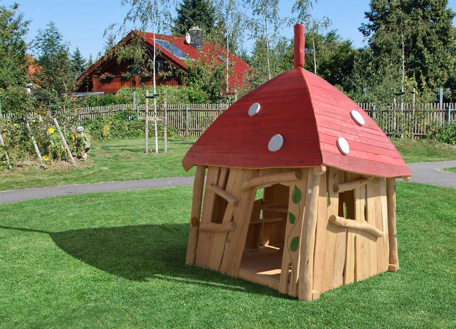 kleinkind spielhaus pilzh uschen ziegler spielpl tze. Black Bedroom Furniture Sets. Home Design Ideas
