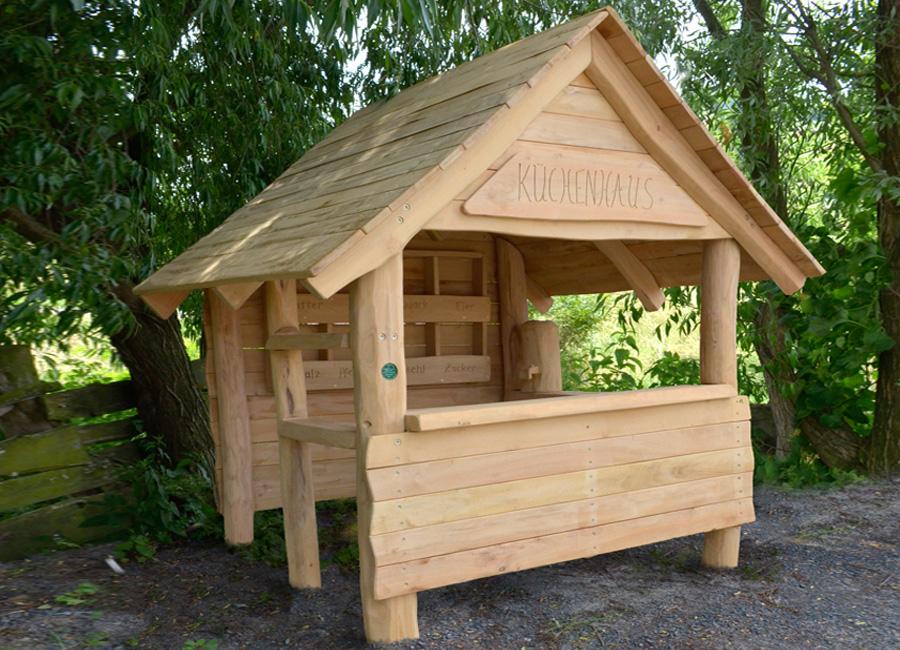 spielk che aus robinienholz ziegler spielpl tze. Black Bedroom Furniture Sets. Home Design Ideas